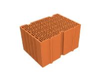 Briques, béton cellulaire et corniches